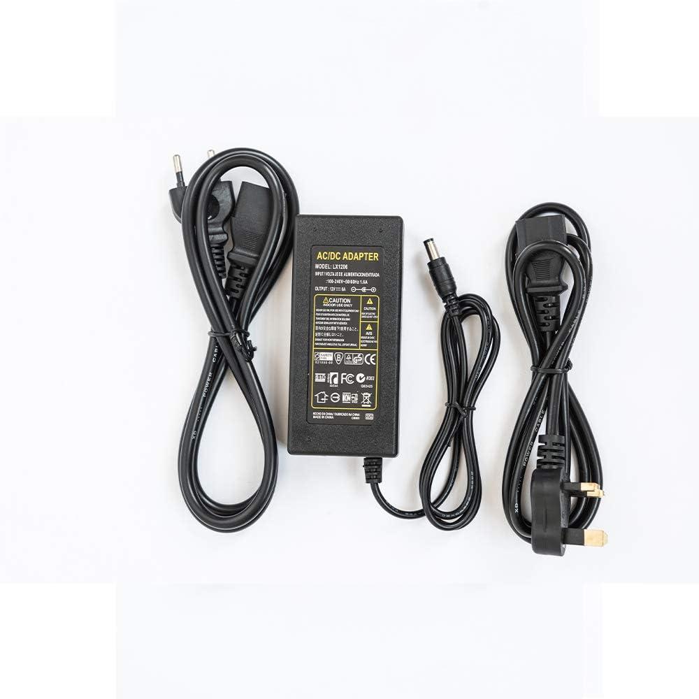 RTBJ-AT LED Transformadores de Poder etc. Adecuado Para Tiras de luz LED Pantalla 10A 120 W AC-DC Adaptador de Corrienteproporciona una Potencia de Salida Estable de 12V