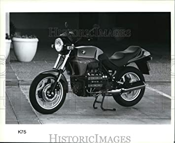 Imágenes históricas Prensa Photo Ride en estilo con la bicicleta más cara de su tiempo, BMW k75 – 8 x 9,75 en: Amazon.es: Hogar