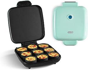 Dash DBBM900GBAQ04 Sous Vide Style Family Size Egg Maker for Breakfast Bites, Sandwiches, Healthy Snacks or Desserts, Keto & Paleo Friendly (9 Servings), Aqua
