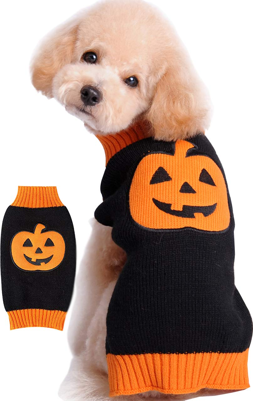 HAPEE Dog Sweaters, Halloween pet Clothes for Dog cat