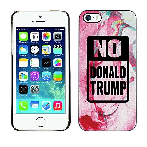 Print Motif Coque de protection Case Cover // Q04150520 Arrêtez Trump renaissance // Apple iPhone 5 5S 5G