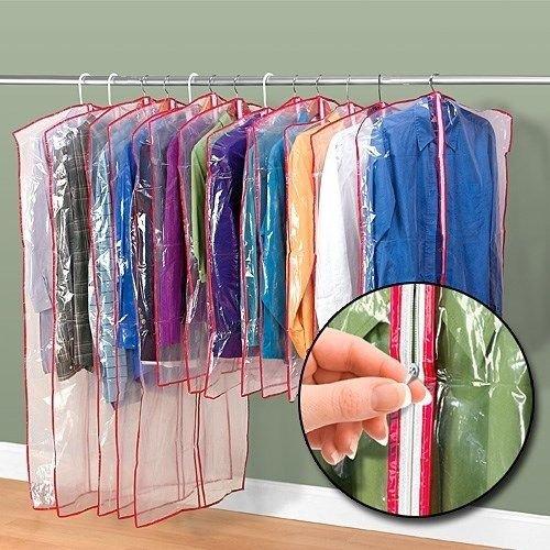 Zippered Garment Waredrobes Dress Cover