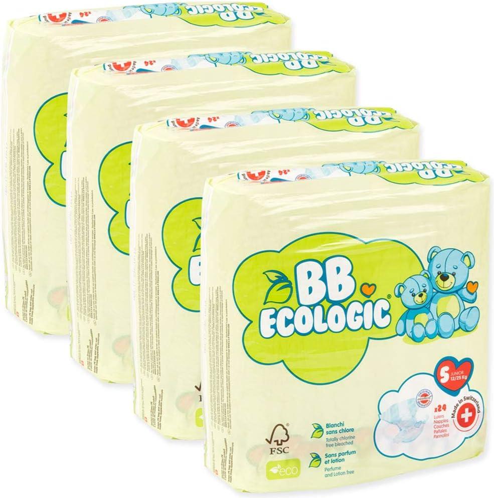 BB Ecologic Couche B/éb/é 12 /à 25 Kg//Taille 5