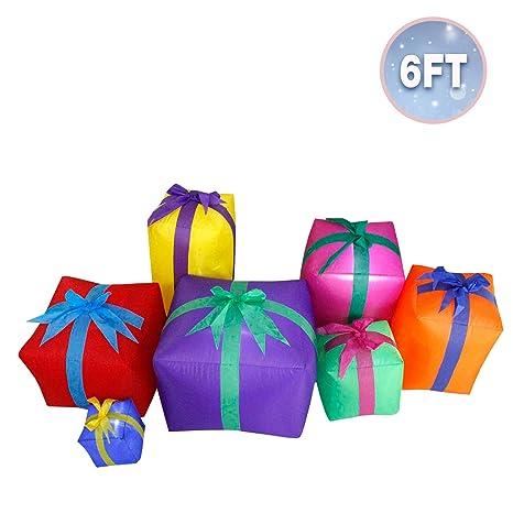 Amazon.com: JF Deco - Farol hinchable de Navidad para ...