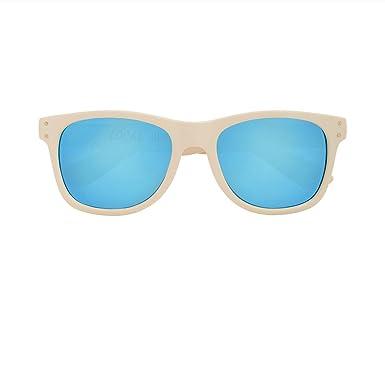 Local Supply - Lunette de soleil - Femme bleu or 52 GwOpxXN