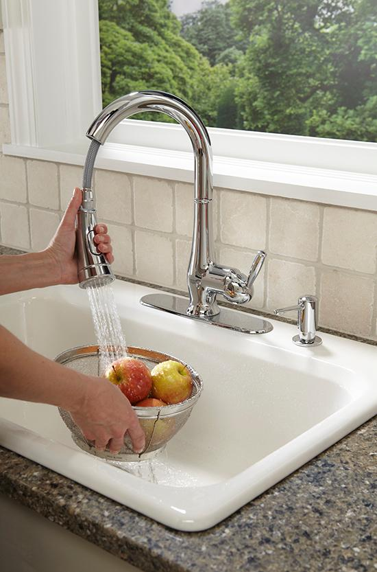 Grohe 30216000 Wexford Single-handle Pull-down Spray head Kitchen ...