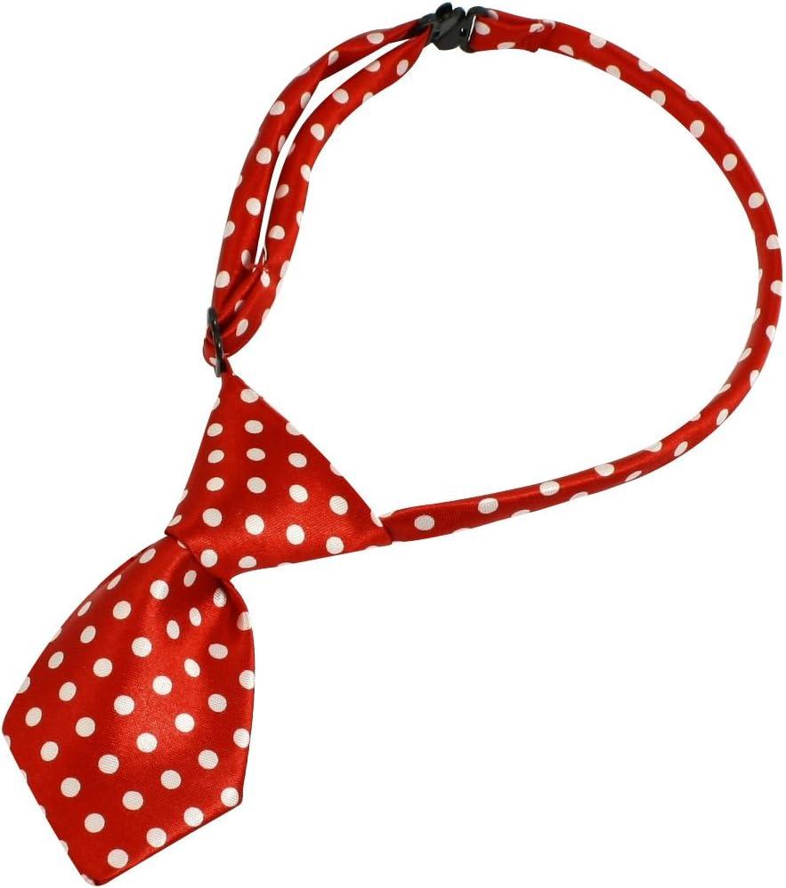 corbata de moño de perro Rojo para Perro Gato Mascota con Collar ...