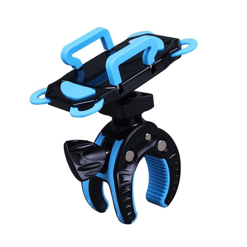 vinallo Bike Phone Halterung Motorrad Fahrrad Halter Universal Halterung Lenker Unterstü tzung fü r iPhone 7 6S Samsung S7 S6 S5 S4 Grü n blau