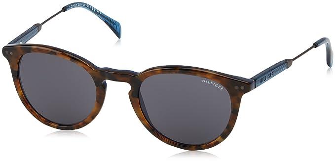 Unisex-Adults TH 1480/S HA Sunglasses, Havana Brown, 51 Tommy Hilfiger
