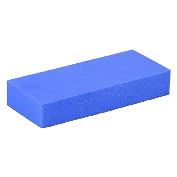 sourcingmap Esponja de limpieza de cristal para lavar con agua de color de azul
