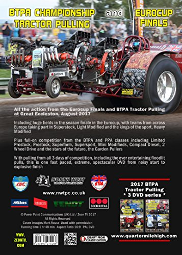 2017 Btpa And Mitas Eurocup Finals Tractor Pulling Dvd Great