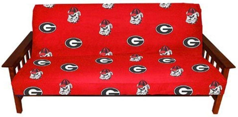 College Covers Georgia Bulldogs Settee Cushion Grey