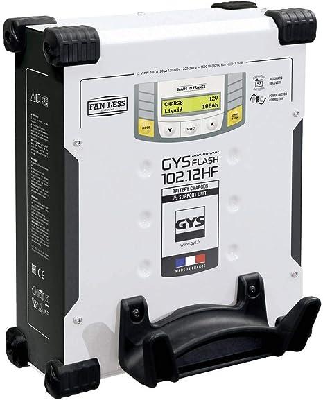 Gys Gysflash 102 12 Hf Vertikal 029606 Automatikladegerät 12 V 100 A Auto