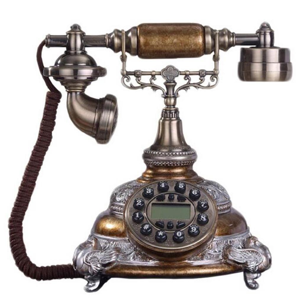 LLP LM Home Landline Phone Retro Creative Telephones Classical Phone, d