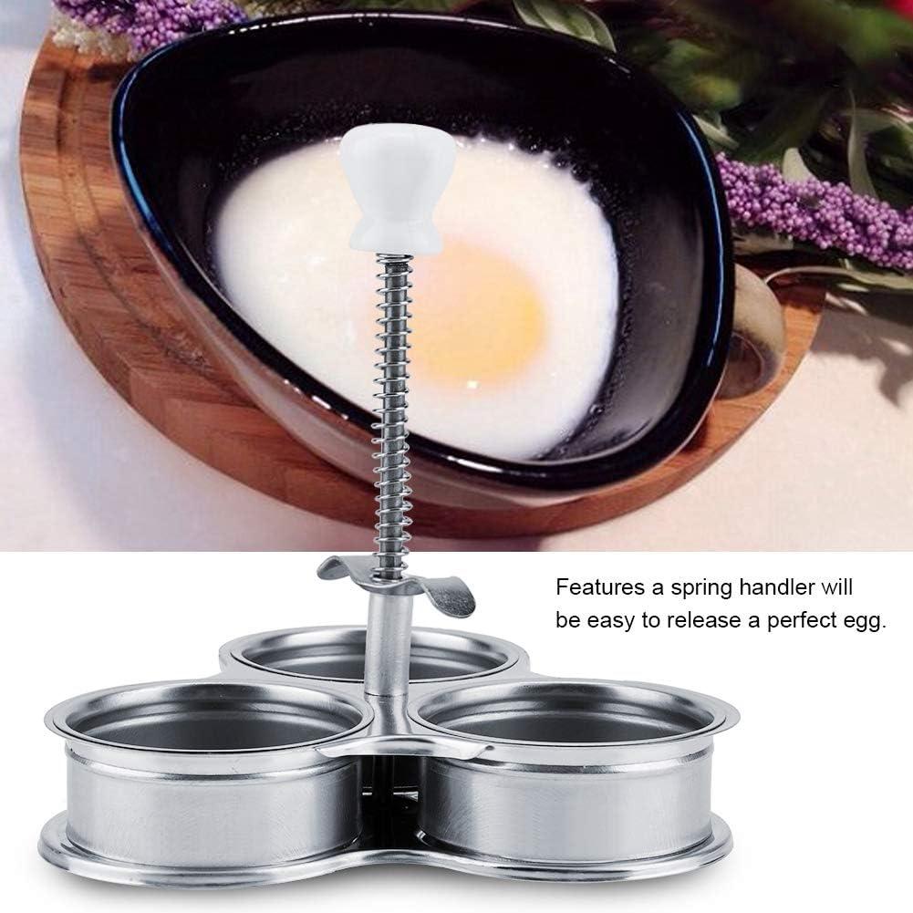 Egg Poachers para cocinar para el hogar para la cocina para la preparaci/ón del desayuno Egg Poacher Pan Antiadherente Egg Cooker Egg Steamer Egg Boiler