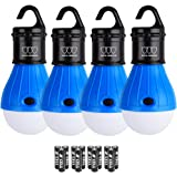 LED Camping Light - LED Lantern Camping Lantern Portable LED Tent Lantern Camping Gear Camping Equipment for Outdoor and Indoor (4Pack)