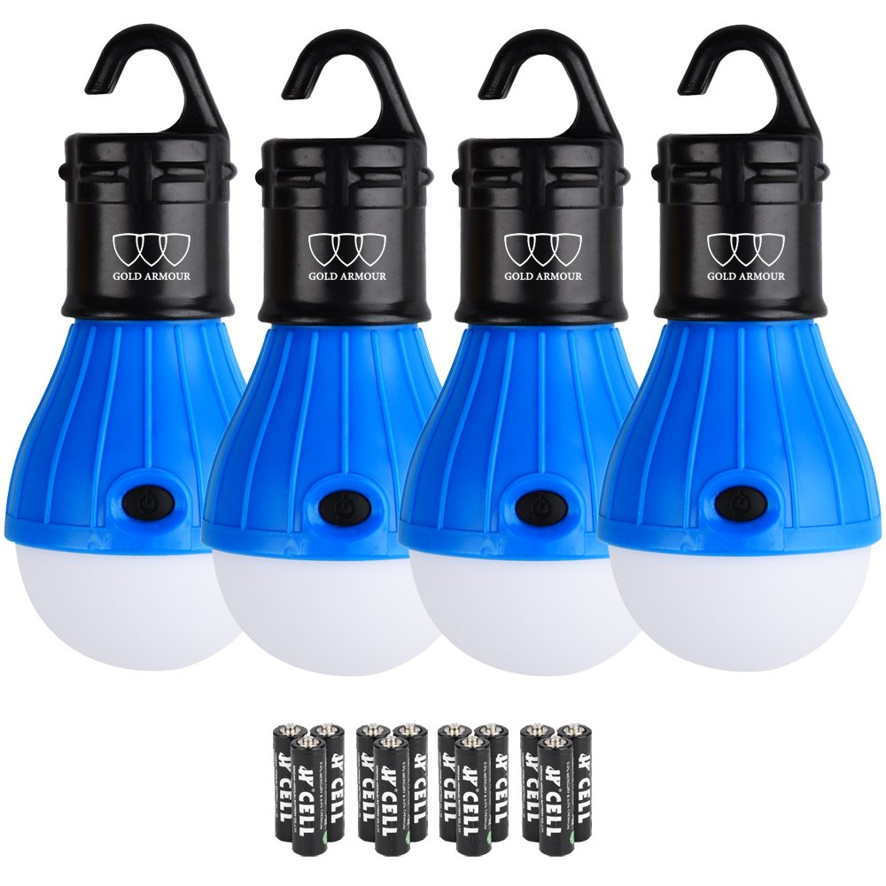 LED Camping Light - LED Lantern Camping Lantern Portable LED Tent Lantern Camping Gear Camping Equipment for Outdoor and Indoor (Blue)