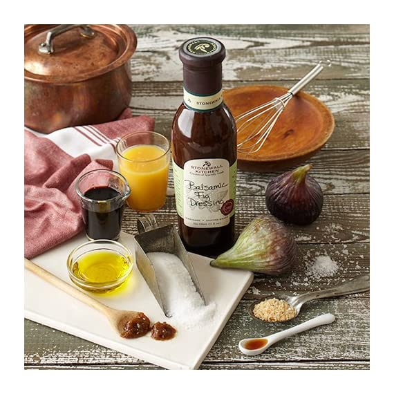 Stonewall Kitchen Dressing, Balsamic Fig, 11 Ounce 2 Stonewall Kitchen Dressing, Classic Greek, 11 Ounce A must for the well-stocked pantry; Convenient and flavorful Includes 1 Stonewall Kitchen Dressing, Classic Greek (11 oz.)