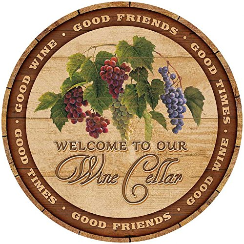 Welcome to Our Wine Cellar 21 - wine barrel wall art decor