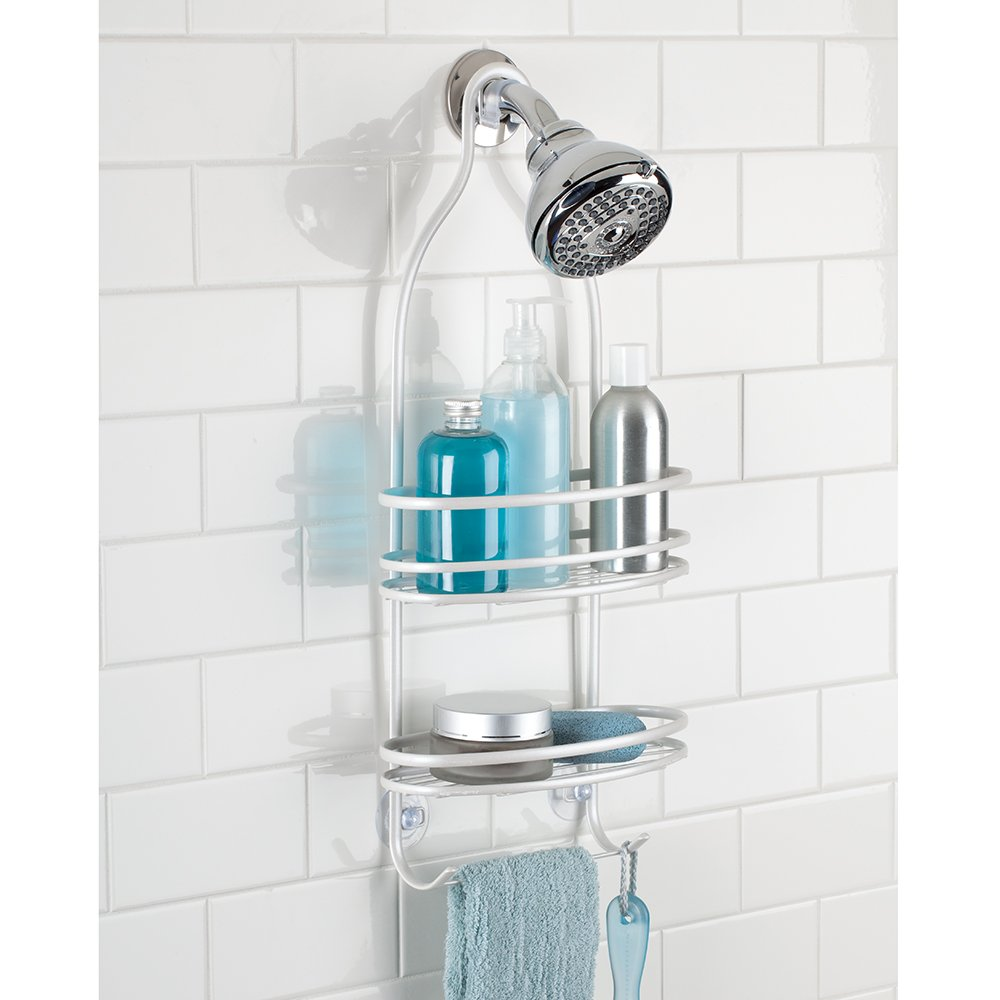 Amazon.com: InterDesign Axis Hanging Shower Caddy - Bathroom Storage ...