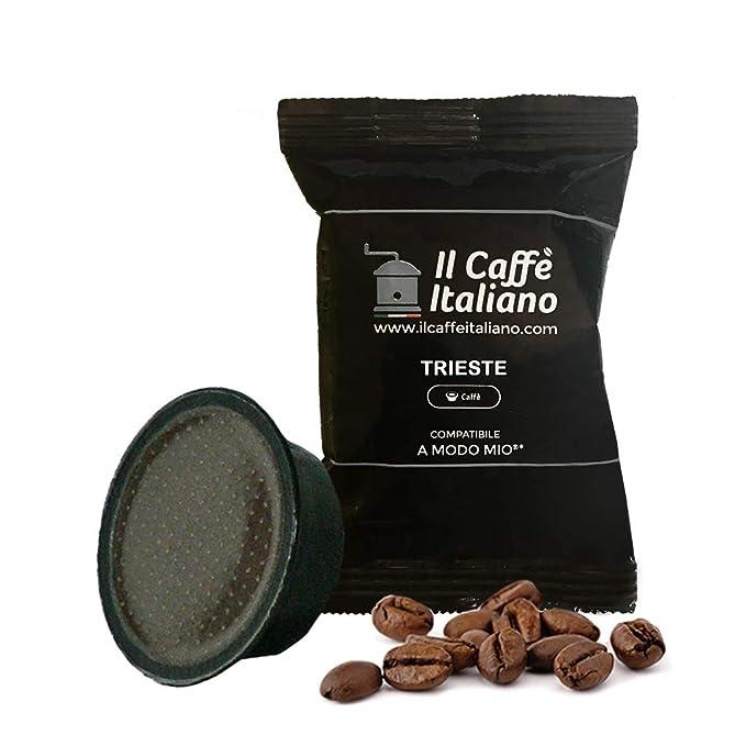 100 cápsulas de café Lavazza compatibles A modo mio - Mezcla Trieste - Il caffè italiano
