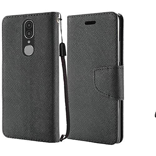 Coolpad Legacy 2019 Version (MetroPCS) Case, Premium Flip Wallet Credit Card Cover Case (Wallet Black)