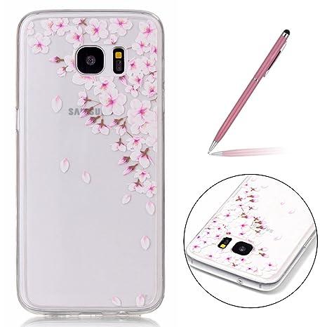 4524967bd9e Felfy Samsung Galaxy S7 Edge Funda, Samsung Galaxy S7 Edge Case, Moda Carcasa  Samsung Galaxy S7 ...