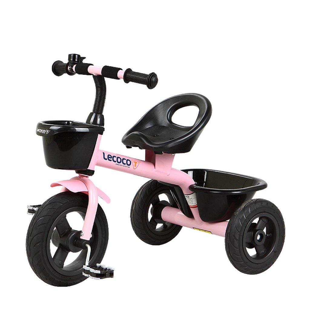 XQ 子供の三輪車自転車キッズバイク3-6歳 子ども用自転車 ( 色 : ピンク ぴんく ) B07CGG763Bピンク ぴんく