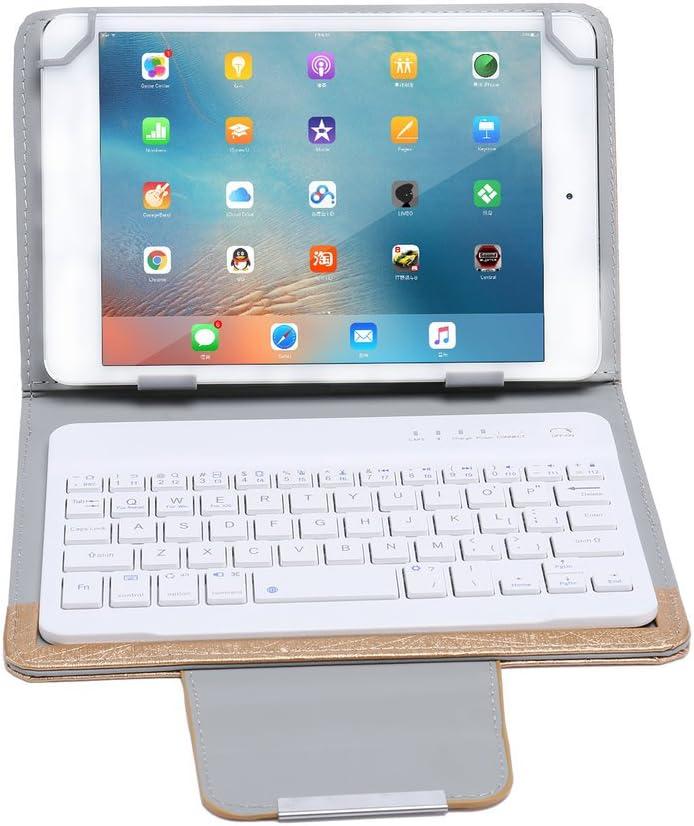 LESHP Funda con Teclado Inalambrico Bluetooth para tablet 9in ...