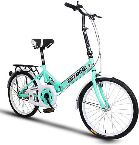 XQ XQ166URE Bicicleta Plegable Bicicleta Ultralight Conveniencia ...