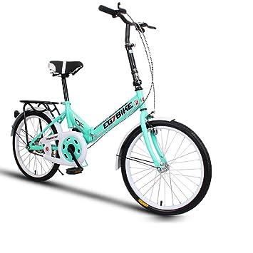 XQ XQ166URE Bicicleta Plegable Bicicleta Ultralight Conveniencia Mini En Pequeña Escala Velocidad Única Mojadura 20 Pulgadas