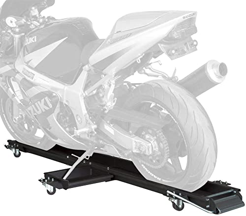 Black Widow MC-Dolly Steel Sport Bike and Motorcycle Dolly