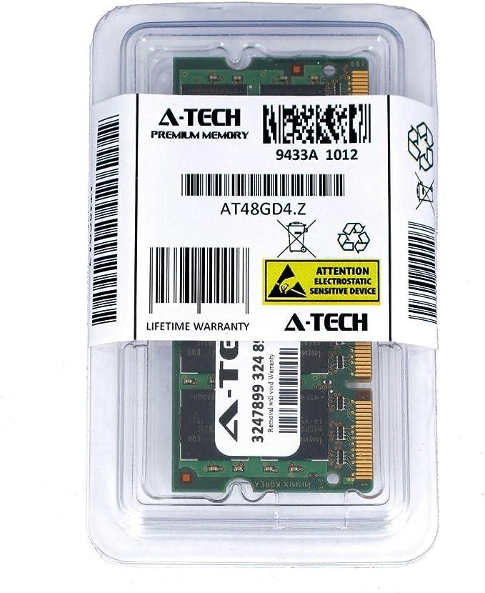 LAPTOP RAM PC2-6400S DDR2-800 SO-DIMM MEMORY SDRAM 8GB LOT 2X 4GB