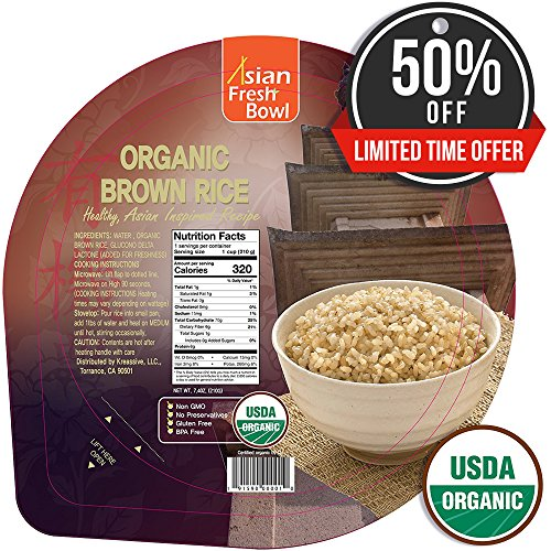 quick cook organic brown rice - 2