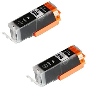 2 Negro Cartuchos de Tinta compatibles para Canon Pixma MG5750 ...