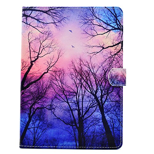 - iPad 9.7 2018/2017 Case, UZER Cute Style Shockproof Premium PU Leather Flip Folding Kick Stand Function Smart Wallet Magnetic Clasp Case with Card Holder ID Slot for Apple iPad 9.7-inch 2017/2018