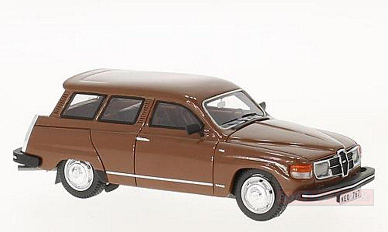 calidad auténtica NEO SCALE MODELS NEO43767 NEO43767 NEO43767 SAAB 95 GL 1979 BROWN 1:43 MODELLINO DIE CAST MODEL  venta al por mayor barato