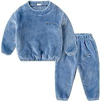 DEBAIJIA Bebé Ropa de Casa 2-12T Infantil Homewear Niños Pijama Niña Ropa de Dormir Niño Camisones Franela Calentar…