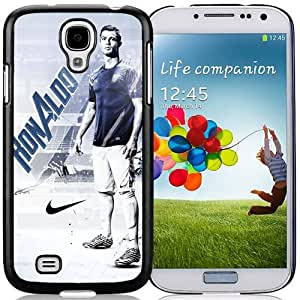 NEW DIY Customized Skin Case With Soccer Player Cristiano Ronaldo 10 Samsung Galaxy S4 I9500 i337 M919 i545 r970 l720 Cell Phone Case