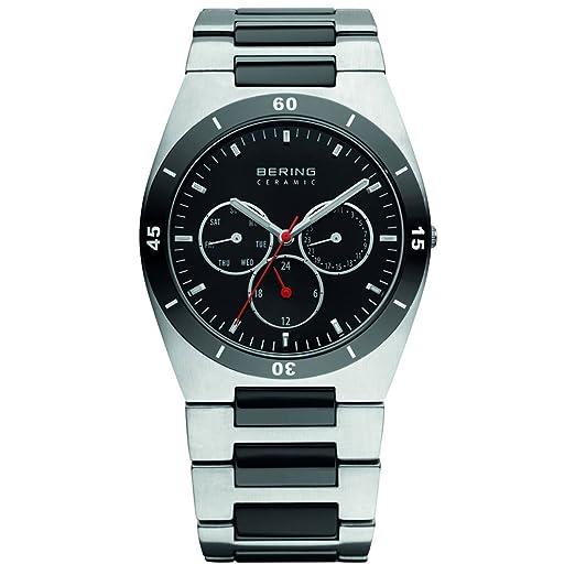 BERING Reloj Analógico para Hombre de Cuarzo con Correa en Acero Inoxidable 32341-742: Amazon.es: Relojes