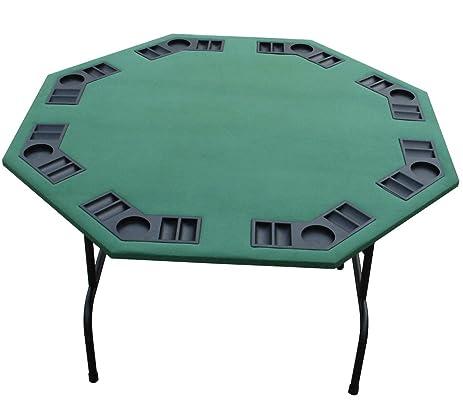 Good 52u201d Green Poker Table. Black Red Burgundy Felts Available. For Texas Holdem,