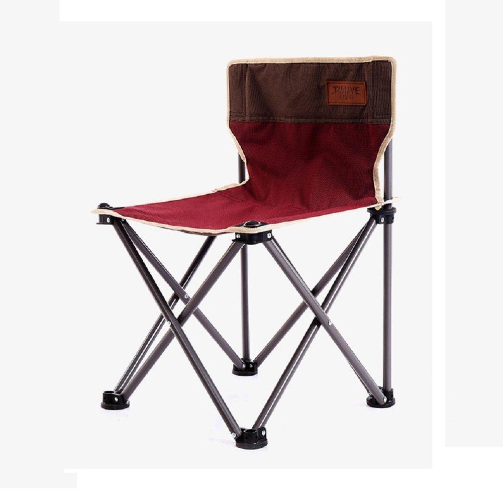 ZDYYCNC Mini Kompakt Klappstuhl,Portable Klappstuhl Camping Klappstuhl