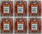 Smokehouse Steer Pizzles 6.5inch 72pk (6 x 12pk) Beef Sticks