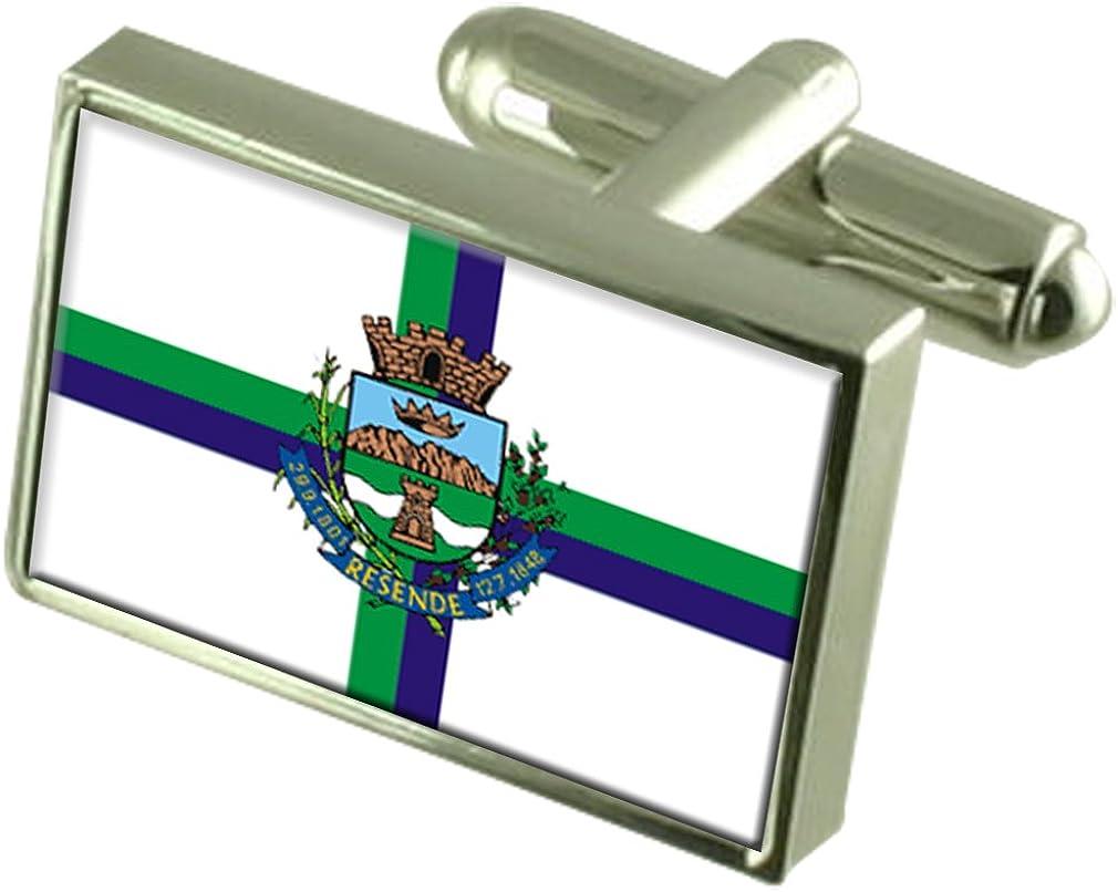 Resende City Rio de Janeiro State Flag Cufflinks