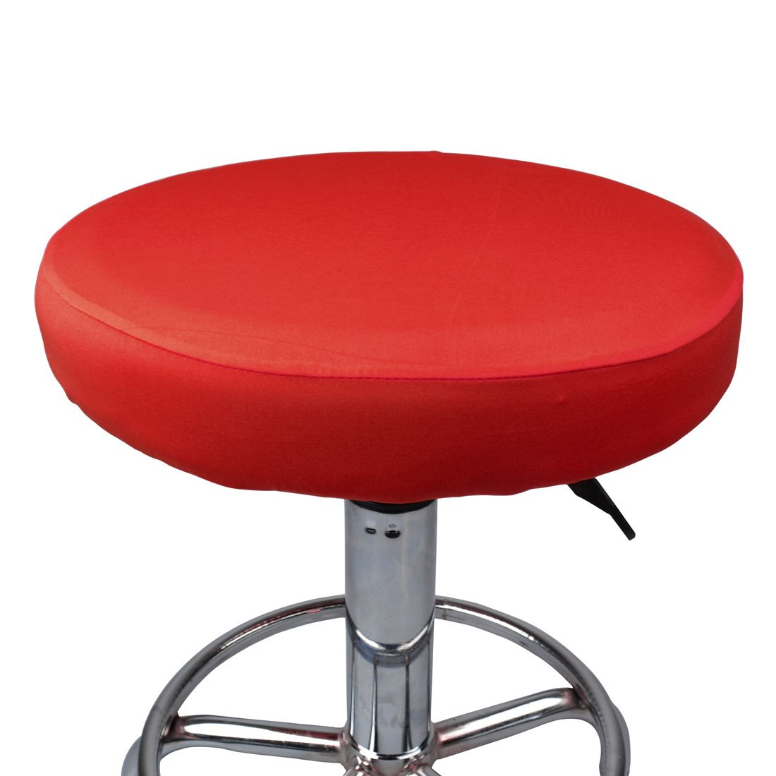 Pinji Stool Cover Round Chair Slipcover Soft Stretchable Barstool Cushion Elastic Chair Protector
