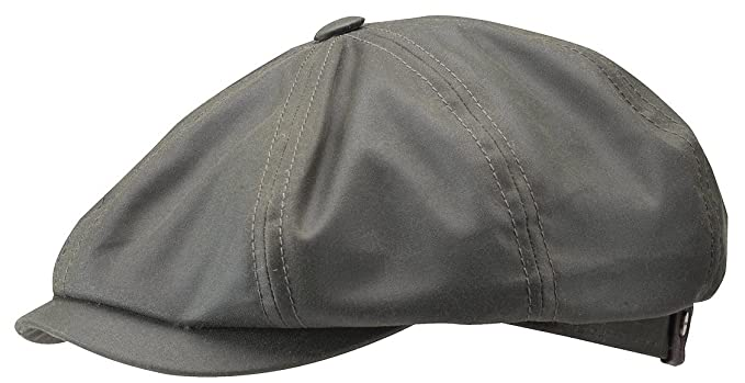 62e87d7662a Stetson Men s Hatteras Waxed Cotton Sport Cap at Amazon Men s ...
