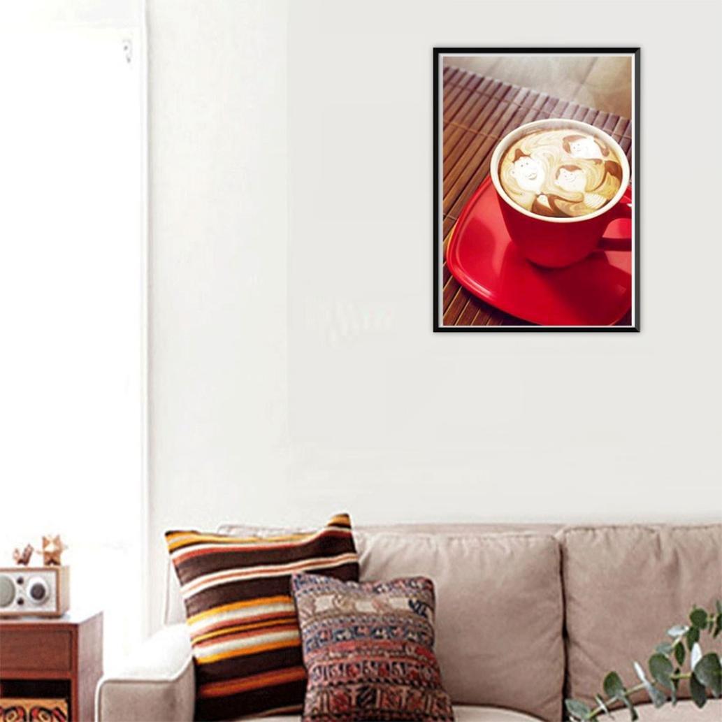 A Fanxing 5D Diamond Painting Kaffeetassen 5D Diamant Malerei Blumen Diamant stickerei Rhinestone Pasted Gem/älde Kreuzstich DIY Cross Stitch Kreuzstich Wohnkultur