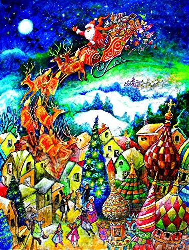 Sunsout 2019 St. Nicholas by Artist Bill Bell 300 Piece Christmas Jigsaw -