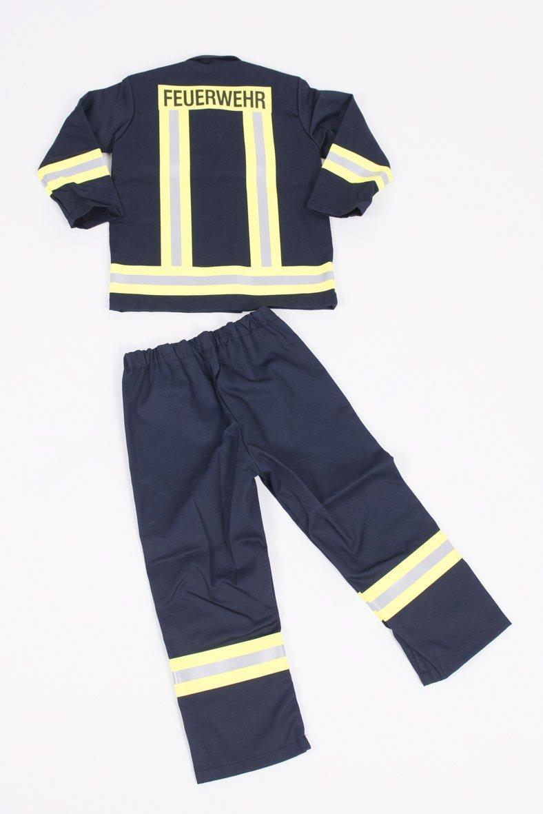 Traje de bomberos para niños Set - Carnaval - - bombero (116 ...