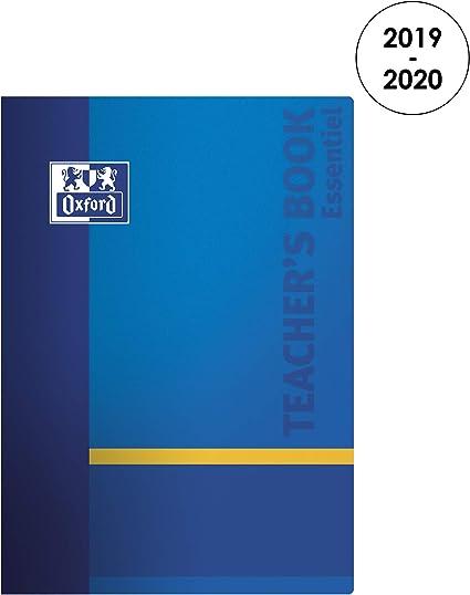 Oxford - Agenda perpetual para profesores, 2019 – 2020 de agosto a ...